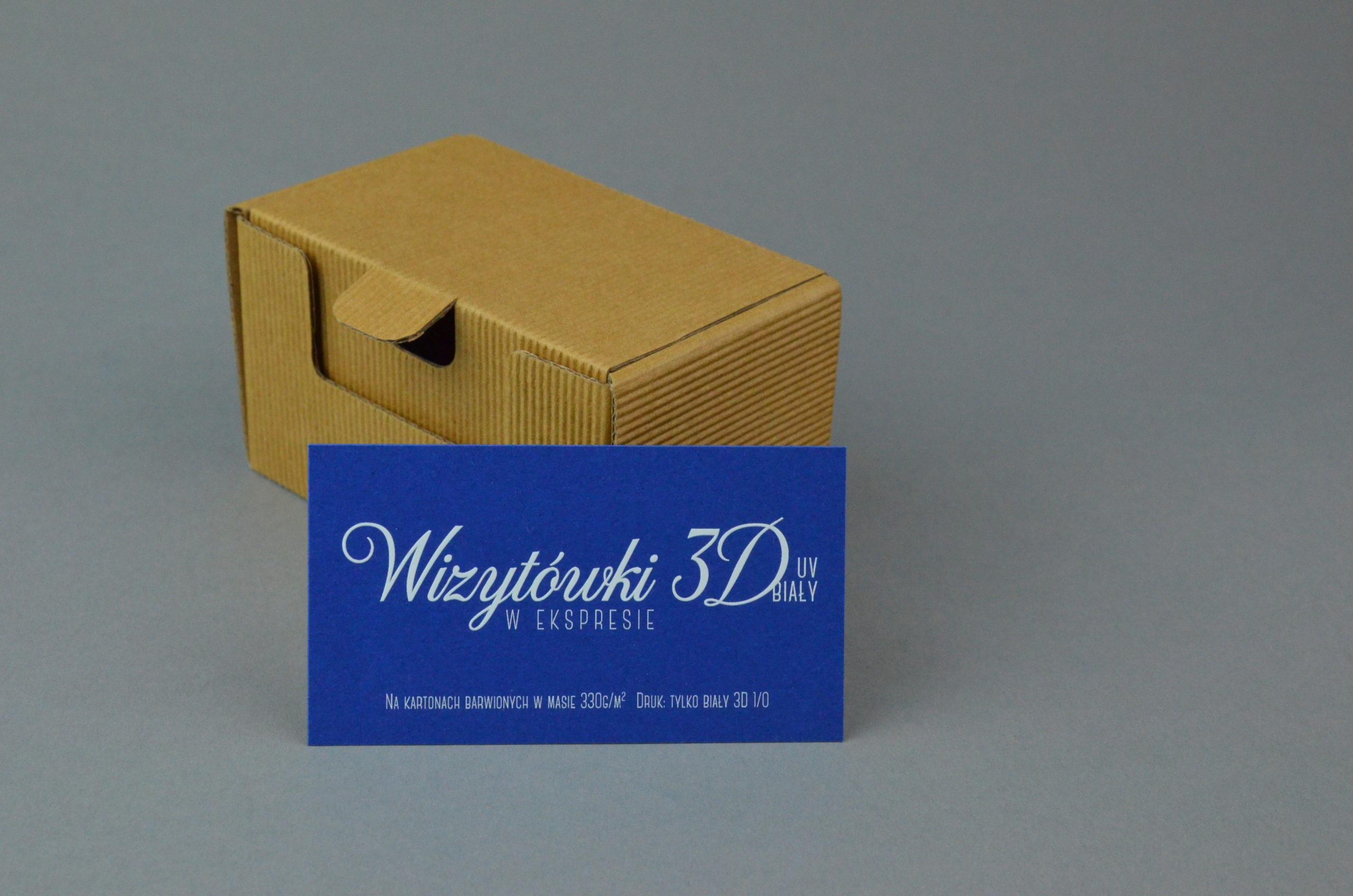 Wizytówki 3D